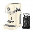 Капсульная кофемашина KitchenAid Nespresso, кремовая, + Aeroccino 3 5KES0504EAC