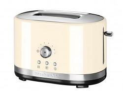 Тостер KitchenAid с ручным подъемом, кремовый, 5KMT2116EAC