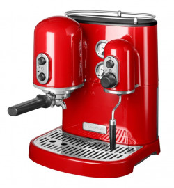 Кофеварка Artisan Espresso, красная, 5KES2102EER, KitchenAid