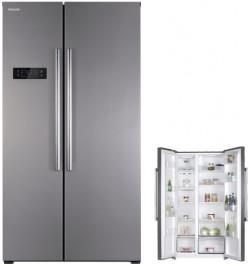 Холодильник с морозильником GRAUDE SBS 180.0 E