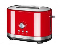 Тостер KitchenAid с ручным подъемом, красный, 5KMT2116EER