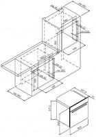 Электрический духовой шкаф Graude BE 60.3 W