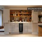 Винный холодильник Dunavox DX-7.20BK/DP
